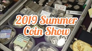 Coin Show Silver Stacking.  Buying a few silver coins with value at the coin show.