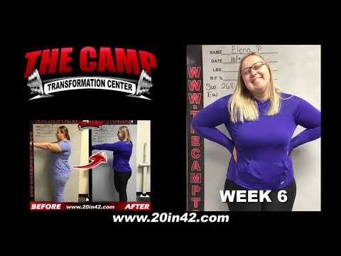 Jacksonville FL Weight Loss Fitness 6 Week Challenge Results - Elena P.