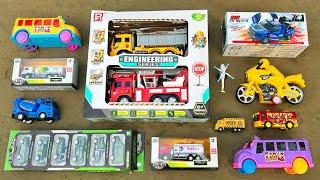 Unboxed Brand New Toy Vehicles Enginnering Series, Motorbike, School Bus | PlayToyTime TV