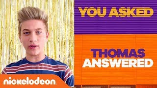 You Asked! Thomas Answered! | Game Shakers | Nick
