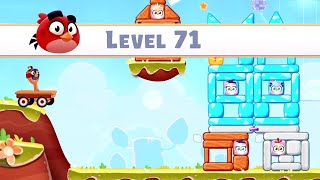 Angry Birds Casual Walkthough Level 71-80 (iOS Android Gameplay)
