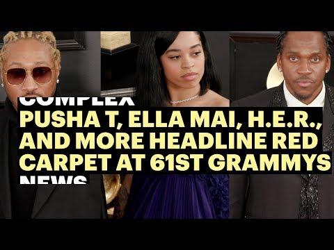 Pusha T, Ella Mai, H.E.R., Miguel and More Headline 2019 Grammys Red Carpet Mp3