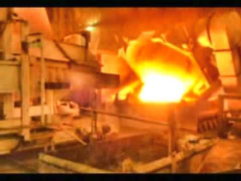 induction melting furnace (8MW+1MW) - 2x15T