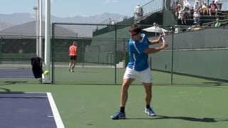 Tommy Robredo Forehand and Backhand In Super Slow Motion - Indian Wells 2013 - BNP Paribas Open.jpg