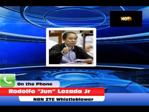 """Interview with Rodolfo """"Jun"""" Lozada Jr.-NBN ZTE Whistleblower"""