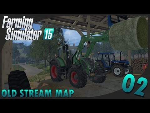 Farming Simulator 15 | Old Stream map #2 On presse la paille et on rentre le foin ! [Multi]