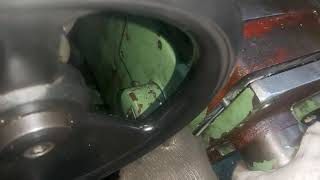 범용밀링수리 스냅링을 안끼워서 다시 분해중입니다