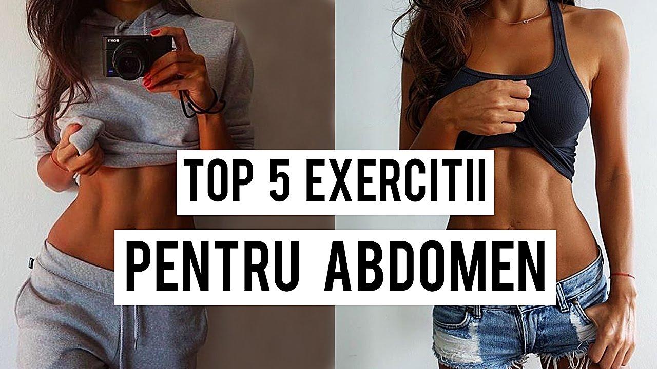 Exercitii pentru abdomen plat | Slabeste burta de acasa