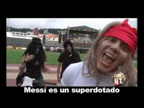 Guns N' Roses - Lionel Messi (NO-TICIAS)