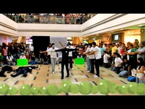 ITM ECO CLUB Flashmob 2013@ ITM Navi Mumbai