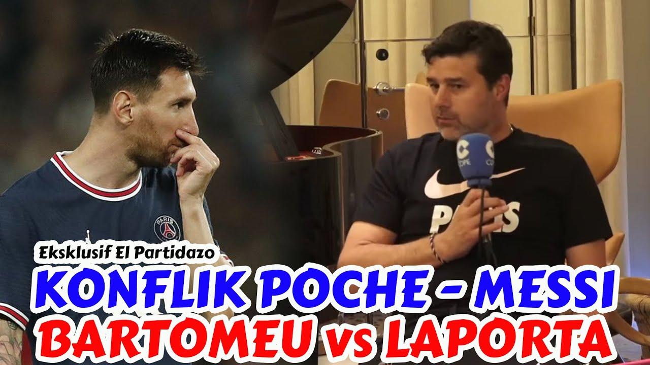 Pochettino Bongkar Masalahnya Dengan Messi di PSG, Bartomeu Serang Balik Presiden Barcelona Laporta