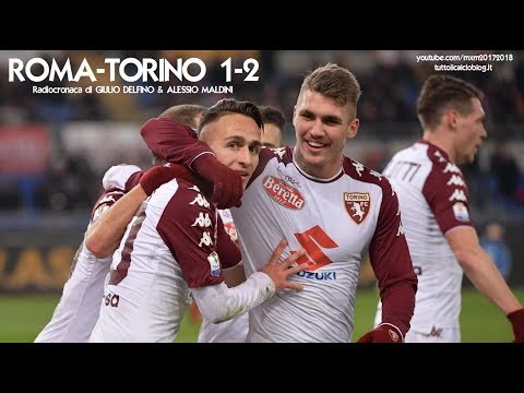 ROMA-TORINO 1-2 - Radiocronaca di Giulio Delfino & Alessio Maldini (COPPA ITALIA) da Rai Radio 1