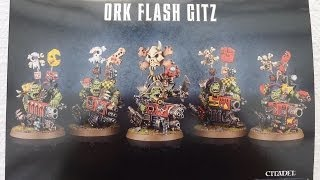 Ork Flash Gitz unboxing and review (WH40K)