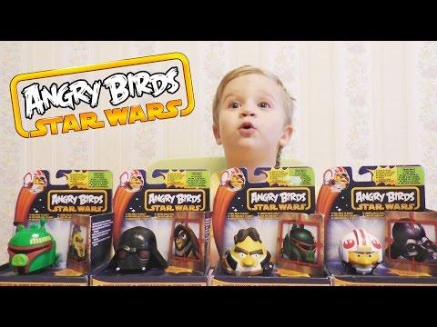 Angry Birds Star Wars по русски Злые Птички ЭНГРИ БЕРДС прохождение игры