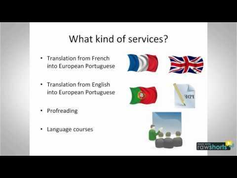 Services De Traduction En Portugais Et En Français