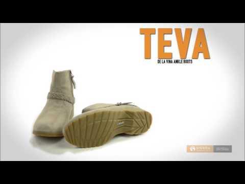 Teva De La Vina Ankle Boots - Suede (For Women)