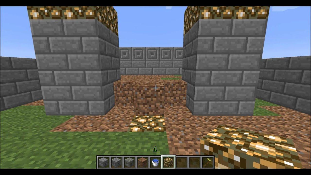 Automatic Minecraft Wheat Farm Design - YouTube