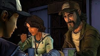 Having Dinner With Kenny The Walking Dead Season 2 Episode 2 A House Divided
