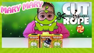 Ам Ням Світ Бокси Мармелад з іграшкою в коробочці з сюрпризом Cut the rope Om nom Surprise Sweet Box