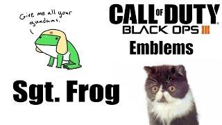 Black Ops 3 Emblem-Sgt. frog