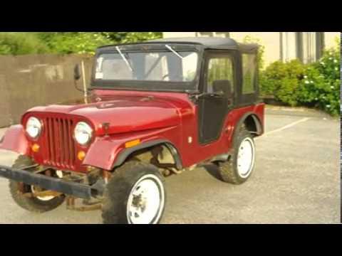 1966 Jeep Cj5 Dauntless V6 Buick 225 Youtube