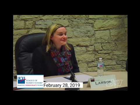 League of Women Voters Forum on February 28, 2019