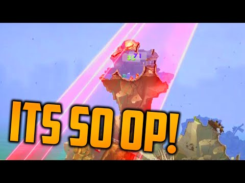 The Most OP Weapon in Worms WMD |
