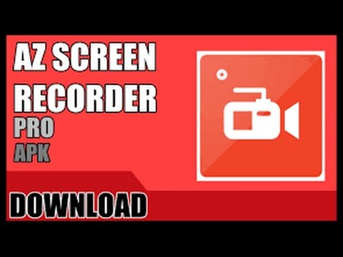 Download AZ Screen Record PRO MEDIAFIRE!!