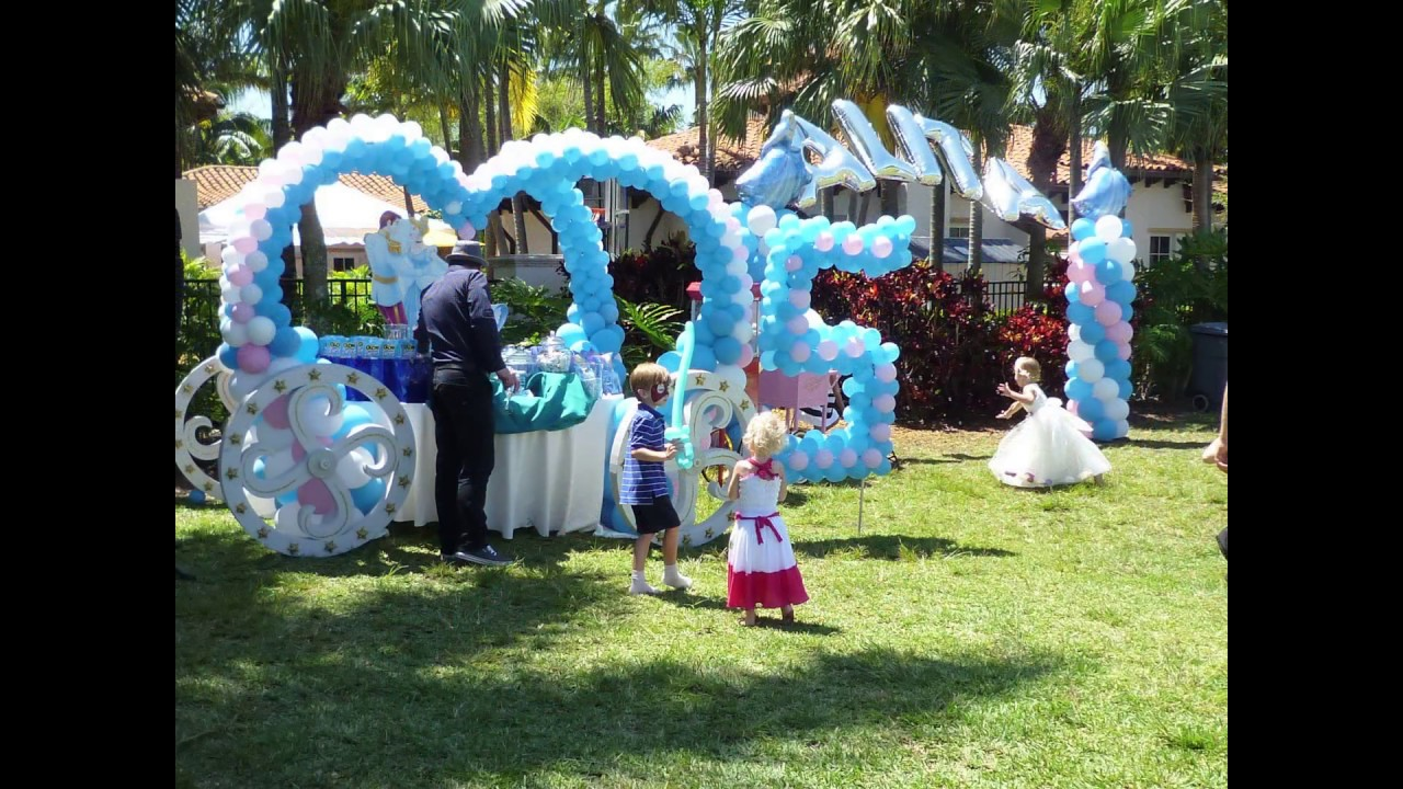 Princess Party. Decor and Entertainment. Outdoor. DreamARK ...