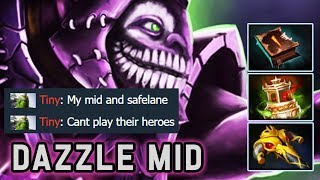 How I Destroy Invoker Mid with Dazzle | Dota 2 Immortal Gameplay