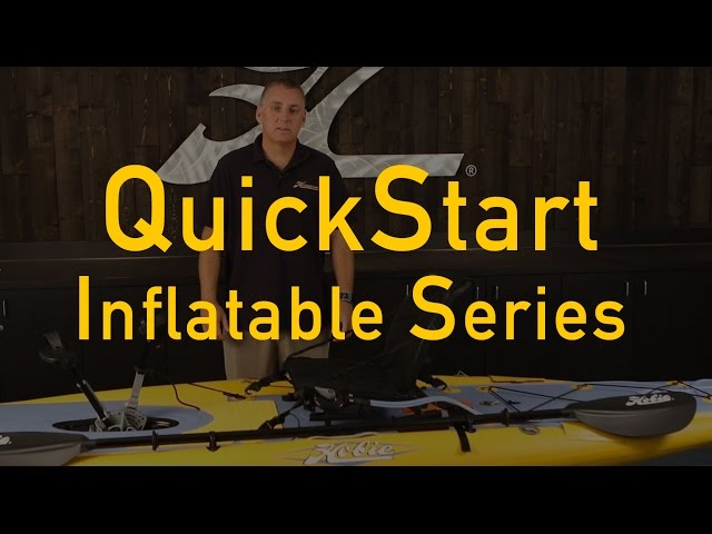 Hobie QuickStart for our Inflatable series kayaks.