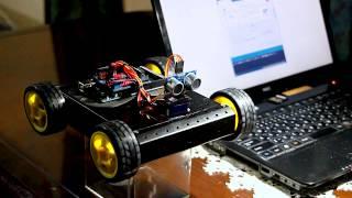 Arduino MEGA Sainsmart 4WD Robot Project 衝突防止