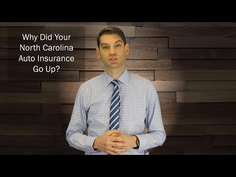 Why did my North Carolina car insurance go up?