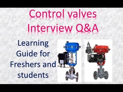 Control valve Interview Q&A