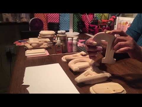 DIY with Cricut Princess Theme Name Centerpiece