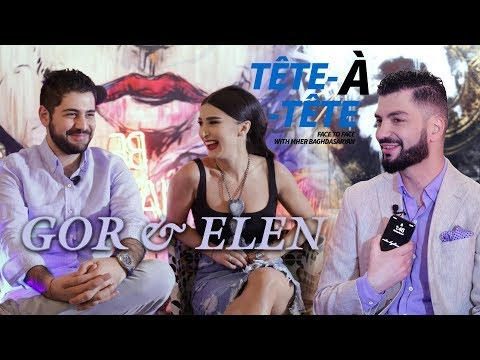 Tete A Tete 3 Գոռ Եփրեմյանն ու Էլեն Հարությունյանը՝ նշանադրության մասին