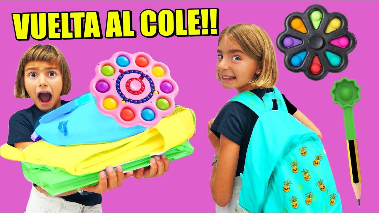 VUELTA AL COLE CON POP IT Gisele y Claudia Las Ratitas