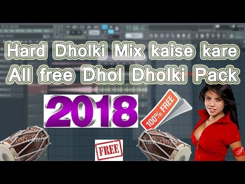 How To Make Hard Dholki Remix And free Pack