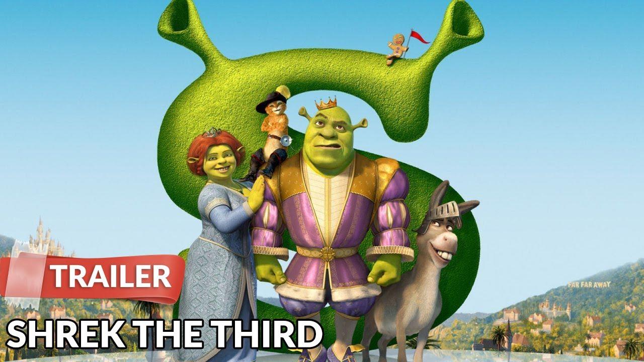 Shrek The Third 2007 Trailer Hd Mike Myers Cameron Diaz Youtube
