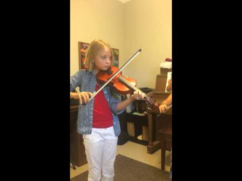 Simple Gifts violin duet
