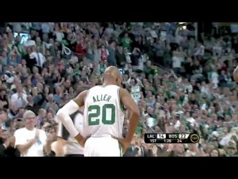 Ray Allen makes history as the three-point king (All time threes)