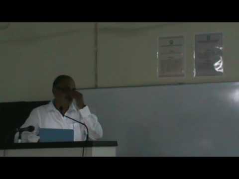 Keynote by Mr. Alok Mukherjee, DRDO, Pune