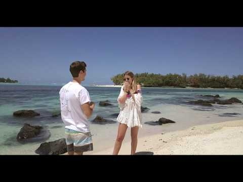 I said yes in Mauritius Island ♡
