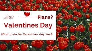 What to do for valentine's day 2016! treats, activities, gift ideas & plans