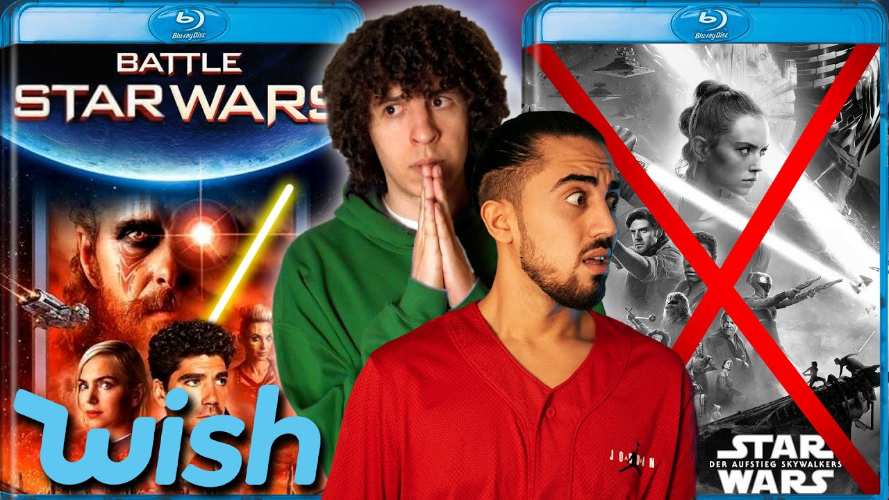 Wenn du Star Wars auf WISH bestellst..   Jay & Arya