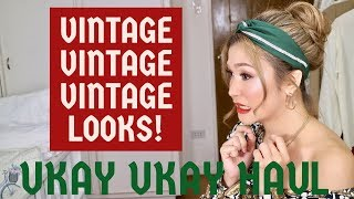 VINTAGE UKAY UKAY HAUL PART 2| MODERN LOSYANG!| HOW TO STYLE VINTAGE CLOTHES| CHARLOTTE F. 🍒