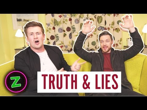 TRUTH AND LIES WITH JAMES MCAVOY
