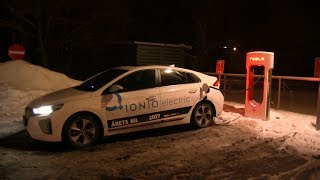 Can other EVs charge at Tesla superchargers?
