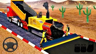 Highway Construction (by Gamesoft Studios) All Game Episode Android Gameplay [ FHD ]