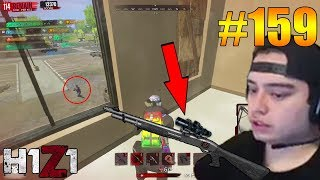 THE NEW SHOTGUN IS A SNIPER! H1Z1 - Oddshots & Funny Moments #159